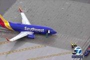 Boeing spoločnosti Southwest Airlines mal problémy pri pristátí na letisku v kalifornskom meste Burbank.
