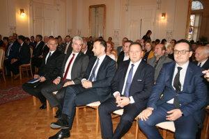 Medzi hosťami MsZ boli aj košický župan Trnka a popradský primátor Danko