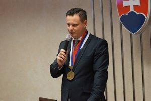 Ladislav Lörinc počas príhovoru.