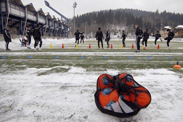 Futbalisti MFK Ružomberok začali so zimnou prípravou na jarnú časť Fortuna ligy 2014/2015.
