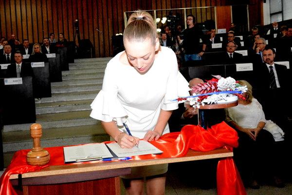 Členkou mestskej rady bude iposlankyňa Marína Gallová.
