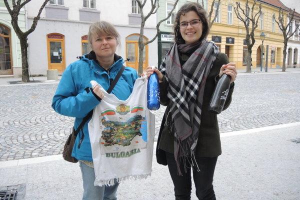 Zuzana a Hana zo Zero Waste Trenčín