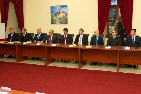 Zasadnutie Mestského zastupiteľstva v Stropkove.