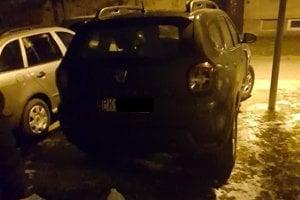 Auto z Pezinka.