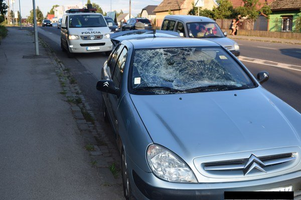 K dopravnej nehode došlo 16. júla.