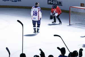 Miroslav Šatan sa lúči.