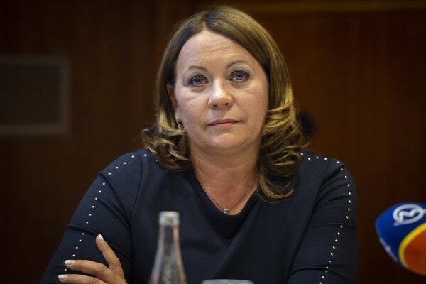 Ľubica Hlinková, generálna riaditeľka Všeobecnej zdravotnej poisťovne.