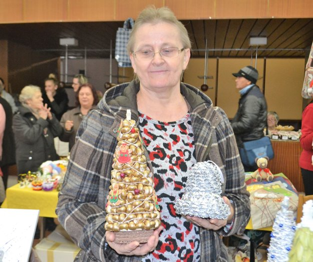 Šikovná dôchodkyňa Alena Kacianová.