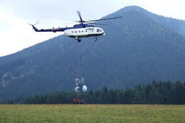 Horskí záchranári nacvičovali v oblasti Poludnice.