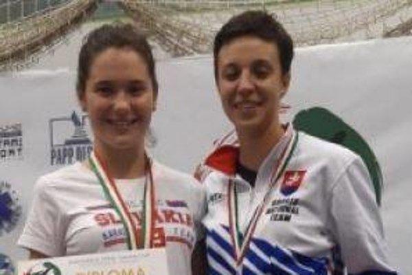 Sarah Hrnková a Hana Kuklová budú reprezentovať Slovensko na mládežníckych ME.