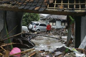 Indonézia po ničivom cunami.