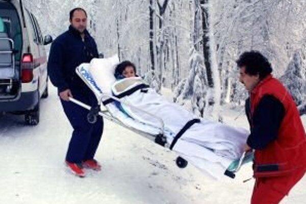 Najviac úrazov zaznamenali horskí záchranári vo Vysokých Tatrách, v Nízkych Tatrách sa počet zranených zdvojnásobil.