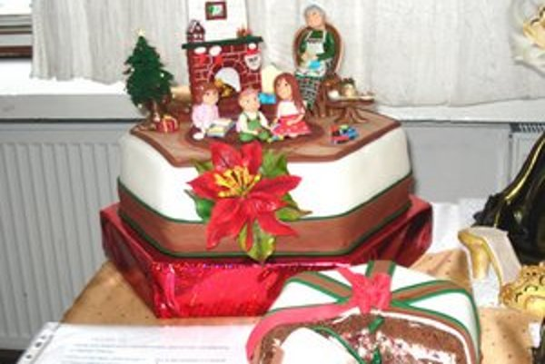 Víťazná torta Babičkina izba.