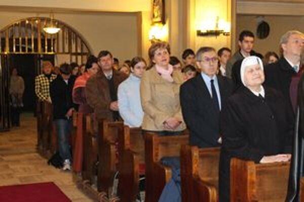 Slávnosť začala svätou omšou v Katedrále Najsvätejšej Trojice v Žiline.