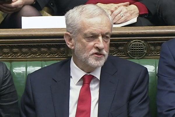 Odchádzajúci predseda Labouristickej strany Jeremy Corbyn.