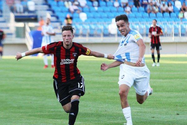 Andrej Fábry podával na jeseň v drese Nitry kvalitné výkony, po ktorých je takmer jasné, že už ho nič neudrží v materskom klube.