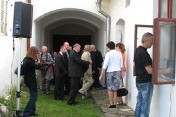 Rodný dom Martina Martinčeka sa zaplnil hosťami.