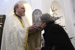Na snímke otec Miroslav Švajko.