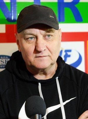 Hlavný tréner Karel Stromšík.