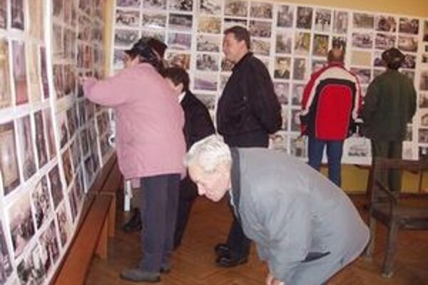 Fotografie, ktoré na výstave sú, veľa napovedia.