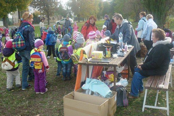 Účastníci sa zapojili do rôznych aktivít