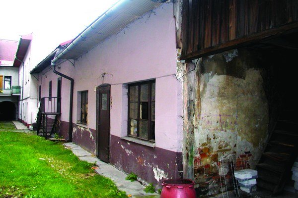 Meštiansky dom postavili v druhej polovici 19.storočia.