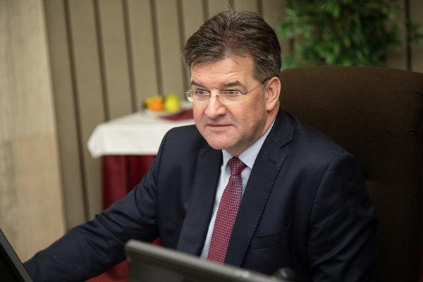 Minister zahraničných vecí a európskych záležitostí SR Miroslav Lajčák počas rokovania 134. schôdze vlády SR. Bratislava, 9. január 2019.