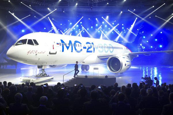 Ruské lietadlo MS-21.