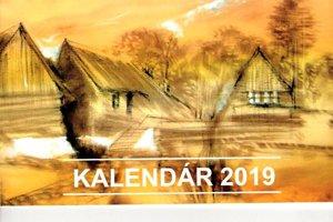 Titulná strana príbovského kalendára.