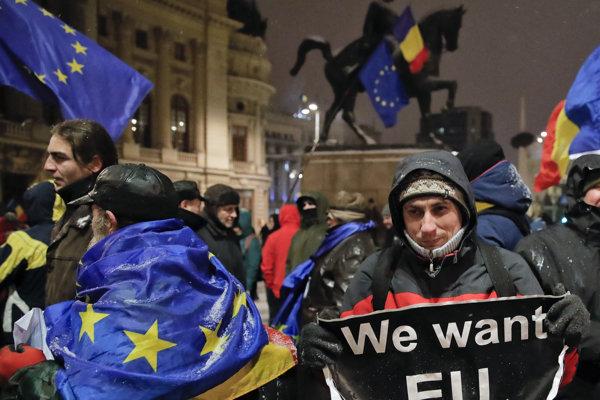Cieľom protestného podujatia bolo podporiť proeurópsku cestu Rumunska a ukázať podporu občanov pre právny štát a nezávislé súdnictvo.