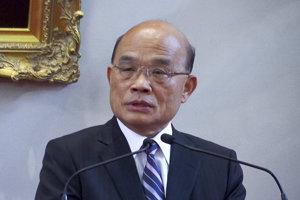 Taiwanský premiér Su Čen-čchang.