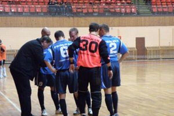 Zverenci trénera Vojteka zvládli zápas v Žiline.