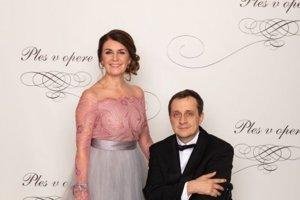 Ján Riapoš, predseda Slovenského paralympijského výboru, predseda Slovenského zväzu telesne postihnutých športovcov s manželkou