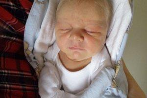 Marcelko Talaš (3510 g a 51 cm) sa narodil 18. decembra Helene a Marcelovi z Horného Lieskova.