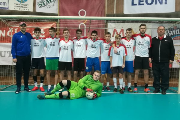 Víťazný tím - Výber ObFZ Trenčín
