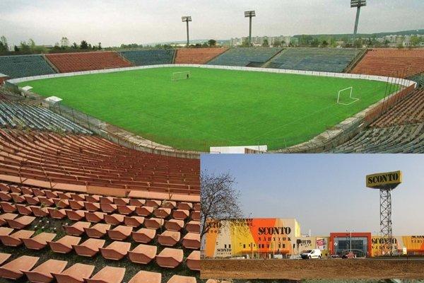 Hlavný štadión vo VŠA je už roky minulosťou, do zanedbanej lokality má namierené nábytkársky reťazec.