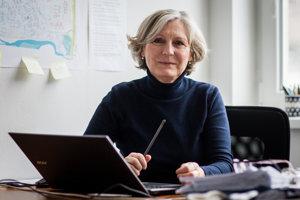 Viceprimátorka Bratislavy Tatiana Kratochvílová