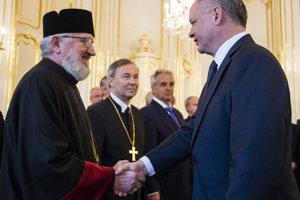 Andrej Kiska prijal zástupcov cirkví už piatykrát.