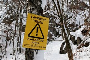 Údolie Ramžinej pri Tureckej je  lavínovými výstrahami známe.