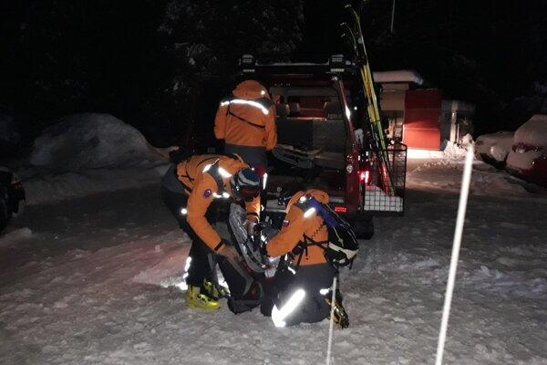 Horským záchranárom v posledných dňoch a týždňoch pribudla robota.