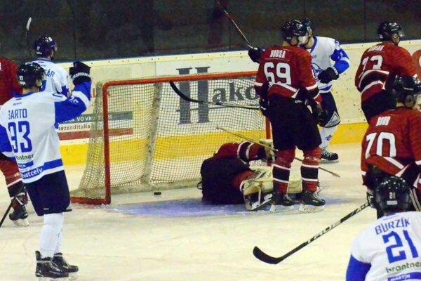 V zápase Martin - Trnava padlo pätnásť gólov.