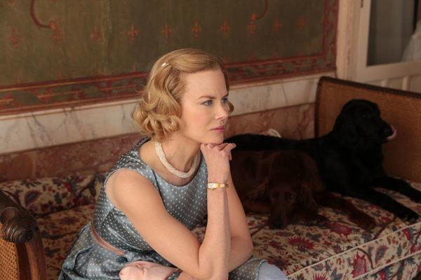 Nicole Kidman ako Grace Kelly vo filme Kňažná z Monaca.