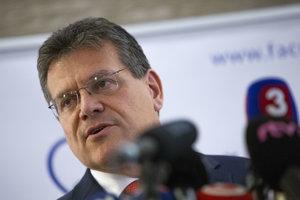 Maroš Šefčovič bude kandidovať za prezidenta.