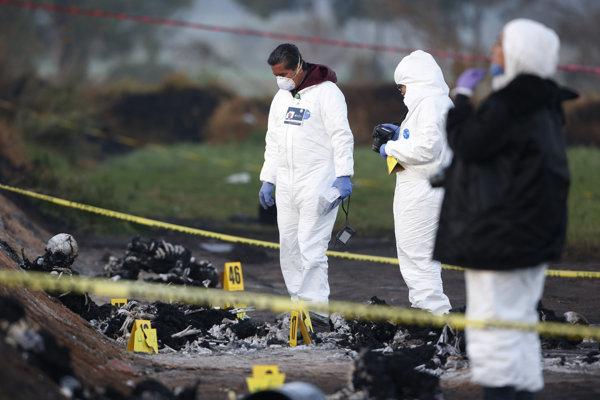 Počet mŕtvych po výbuchu palivového potrubia v Mexiku stúpol na 73