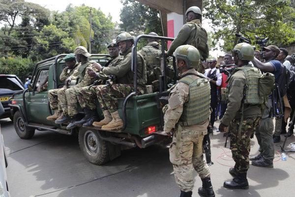 Kenské ozbrojené zložky
