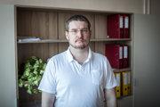 Prednosta Neurochirurgickej kliniky Univerzitnej nemocnice Bratislava na Kramároch Andrej Šteňo.