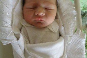Marek Belás (3230 g a 49 cm) sa narodil 1. januára Jane a Michalovi z Dolnej Marikovej.