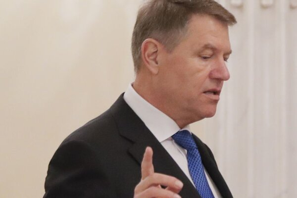 Rumunský prezident Klaus Iohannis.
