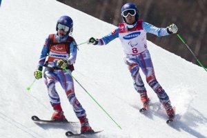 Marek Kubačka s navádzačkou Máriou Zaťovičovou získali zlaté medaily v obrovskom slalome.