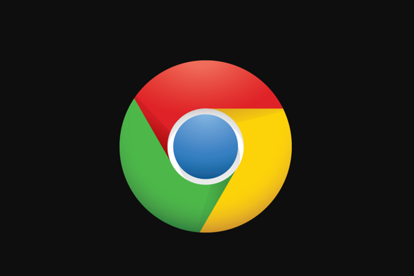Logo Google Chrome.